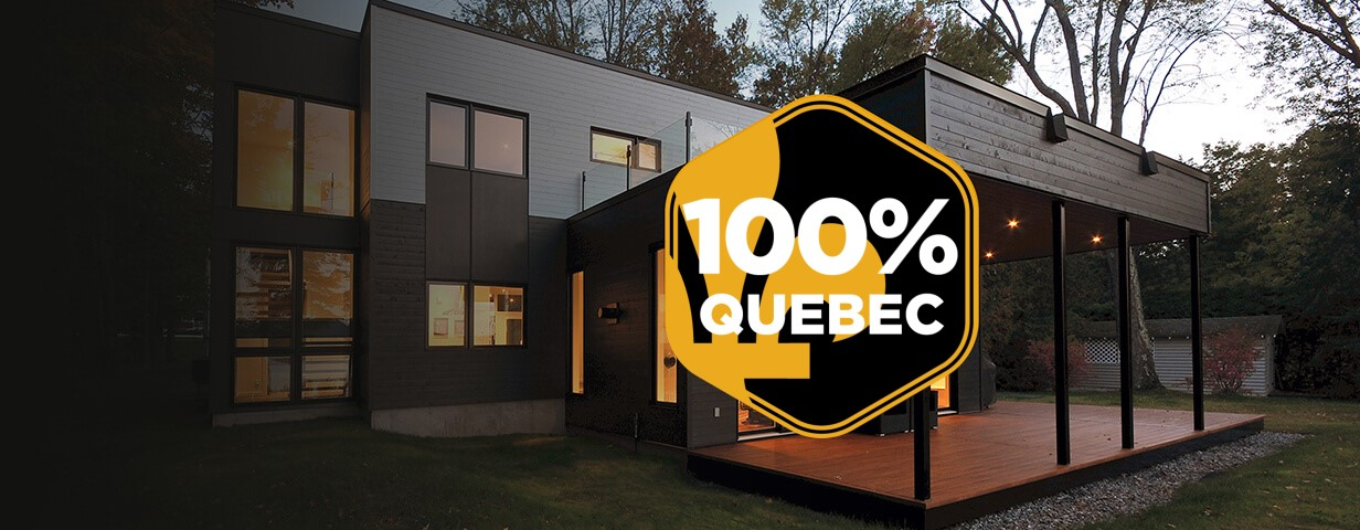 100 % Quebec-made doors and windows