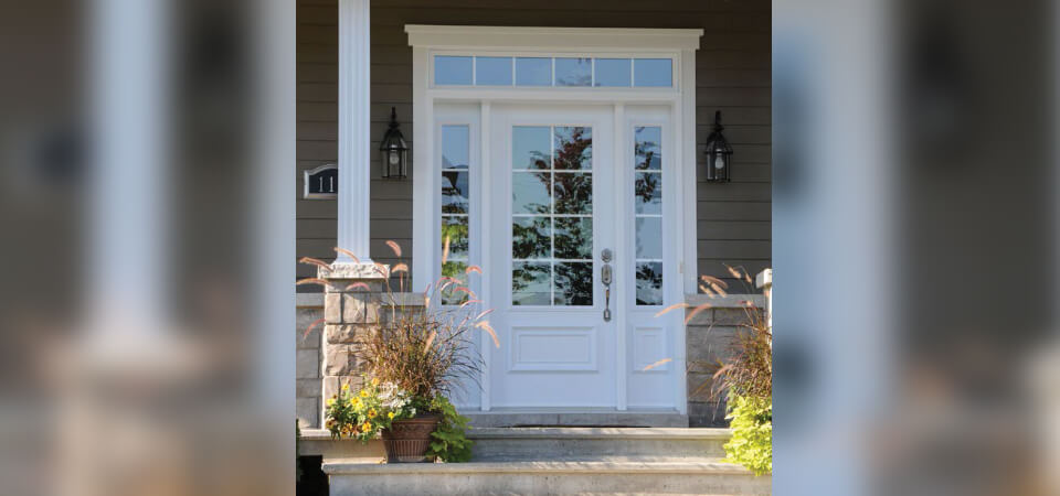 Choosing the ideal entrance door